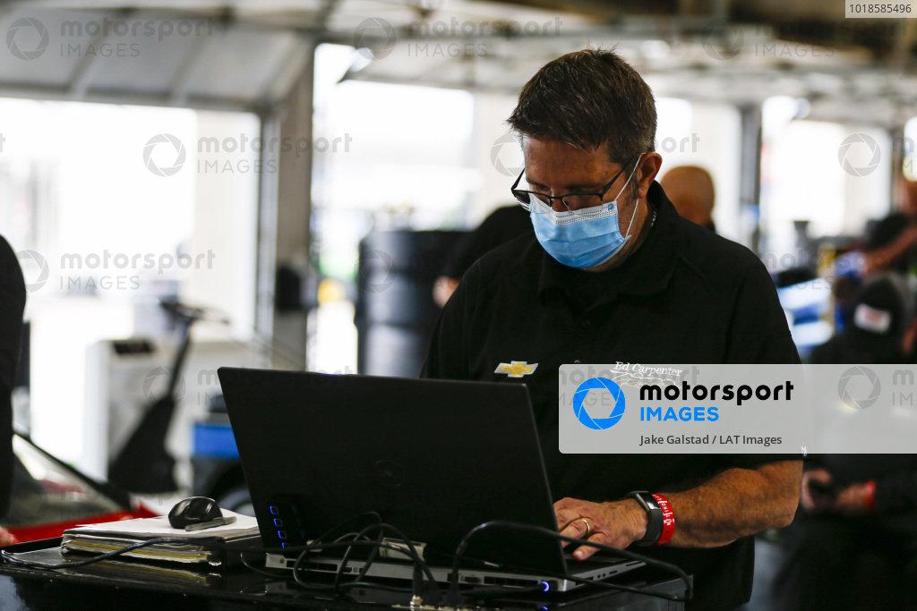 #20: Ed Carpenter, Ed Carpenter Racing Chevrolet, Crew