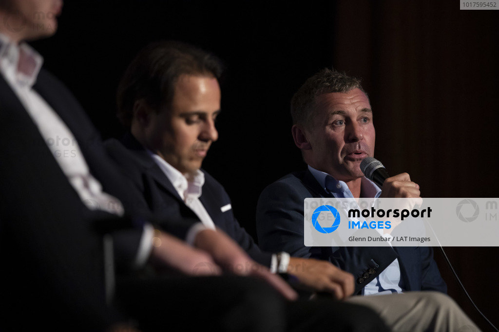Tom Kristensen on stage