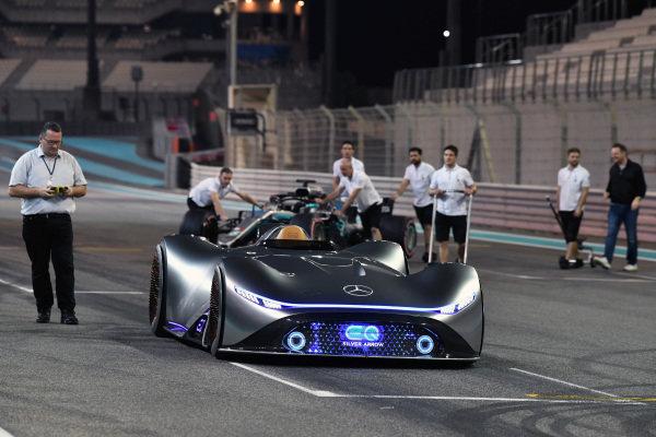 Mercedes-Benz, EQ Silver Arrow concept car