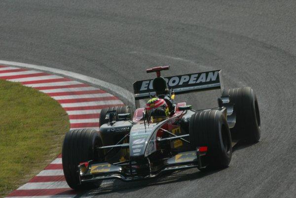2002 Japanese Grand Prix.Suzuka, Japan. 11-13 October 2002.Alex Yoong (Minardi PS02 Asiatech).World Copyright - LAT Photographicref: Digital File Only