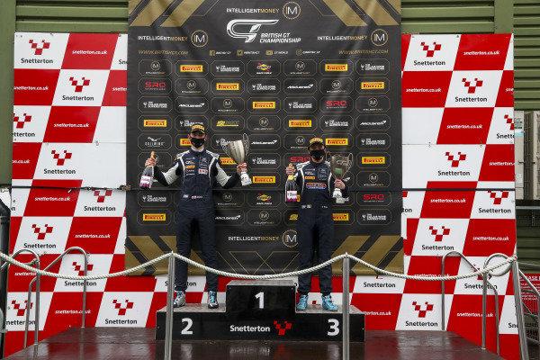 #95 Connor O'Brien / Patrick Kibble - TF Sport Aston Martin Vantage AMR GT4