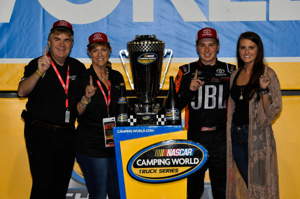 NASCAR Camping World Truck Series Ford EcoBoost 200 Homestead-Miami Speedway, Homestead, FL USA Friday 17 November 2017 Christopher Bell, JBL Toyota Tundra World Copyright: Rusty Jarrett LAT Images