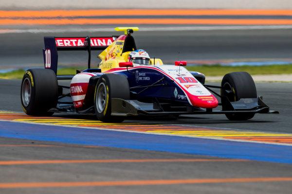 2016 GP3 Series Test 3. Circuit Ricardo Tormo, Valencia, Spain. Wednesday 26 April 2017. Giuliano Alesi (FRA, Trident)  Photo: Zak Mauger/GP3 Series Media Service. ref: Digital Image _54I2815