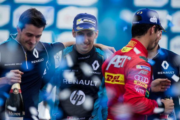 2016/2017 FIA Formula E Championship. Buenos Aires ePrix, Buenos Aires, Argentina. Saturday 18 February 2017. Sebastien Buemi (SUI), Renault e.Dams, Spark-Renault, Renault Z.E 16.  Photo: Sam Bloxham/LAT/Formula E ref: Digital Image _SLA8580