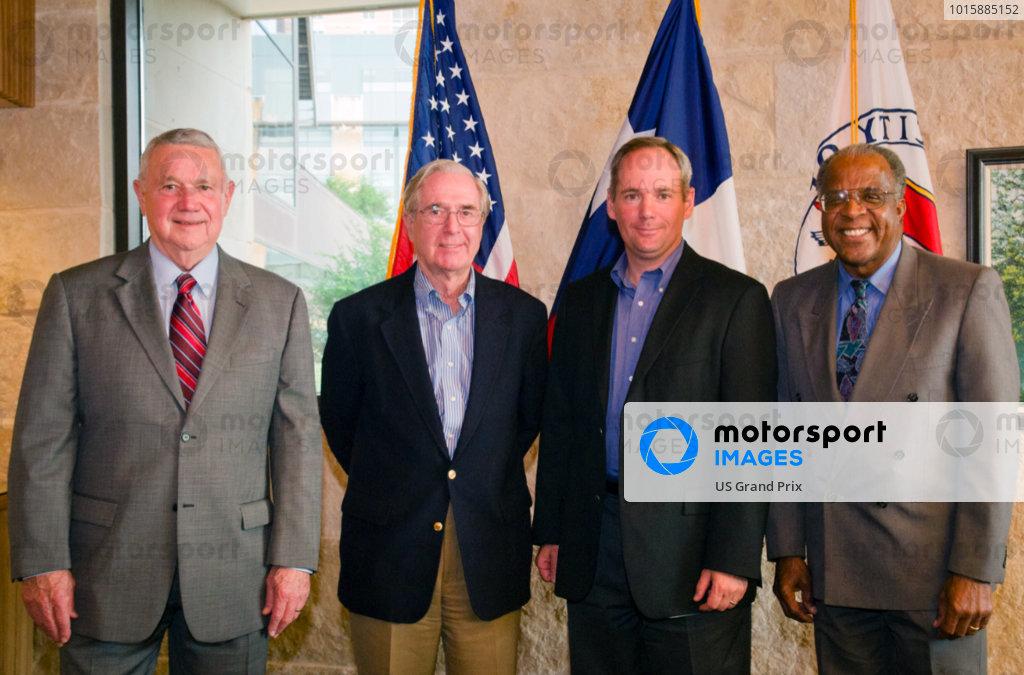 FIA Official Visits Austin and Gives Formula 1 United Statesª