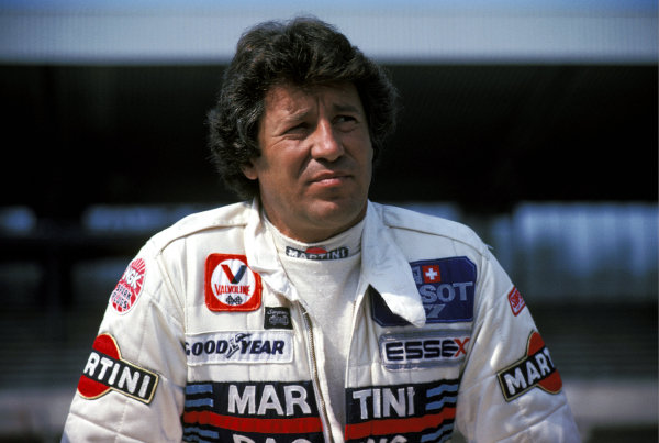 Mario Andretti (USA) (Right) Lotus retired from the race on lap 17 with a transmission failure.  German Grand Prix, Rd 10, Hockenheim, Germany, 29 July 1979.