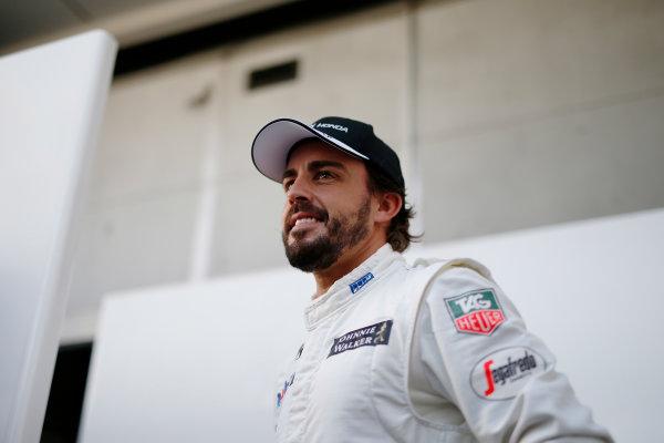 Sepang International Circuit, Sepang, Kuala Lumpur, Malaysia. Thursday 26 March 2015. Fernando Alonso, McLaren. World Copyright: Glenn Dunbar/LAT Photographic. ref: Digital Image _89P5796