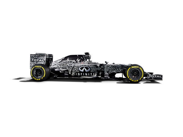 Infiniti Red Bull Racing RB11 Studio Images. Milton Keynes, UK. Friday 30 January 2015. The Red Bull Racing RB11. Photo: Red Bull Racing (Copyright Free FOR EDITORIAL USE ONLY) ref: Digital Image Red_Bull_RB11_Studio_2015_04