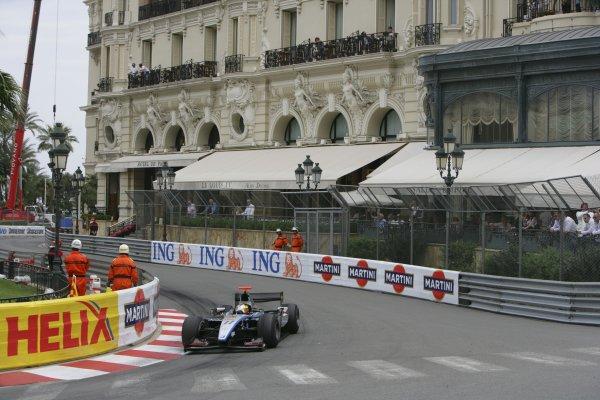 2007 GP2 Series. Round 3. Saturday Race.Monte-Carlo, Monaco. 26th May 2007.Pastor Maldonado (VEN, Trident Racing). Action. World Copyright: Andrew Ferraro/GP2 Series Media Service ref: Digital ImageZP9O1056