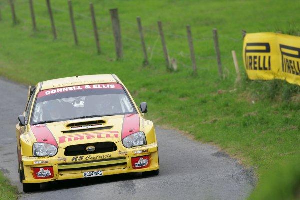 2007 British Rally Championship,Ulster Rally, Northern Ireland,31st August/1st September 2007,Kris Meeke,World Copyright: Ebrey/LAT Photographic