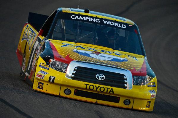 June 06-07, 2013, Fort Worth, Texas USA John Wes Townley truck © 2013, Brian Czobat LAT Photo USA .