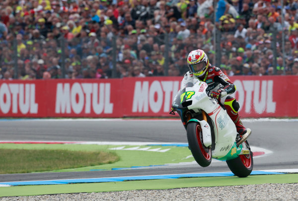 2017 Moto2 Championship - Round 8 Assen, Netherlands Sunday 25 June 2017 Dominique Aegerter, Kiefer Racing World Copyright: David Goldman/LAT Images ref: Digital Image 680247