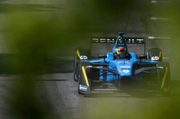 2016/2017 FIA Formula E Championship. Round 12 - Montreal ePrix, Canada Sunday 1 January 2012. Sebastien Buemi (SUI), Renault e.Dams, Spark-Renault, Renault Z.E 16. Photo: Patrik Lundin/LAT/Formula E ref: Digital Image PL1_3245 copy