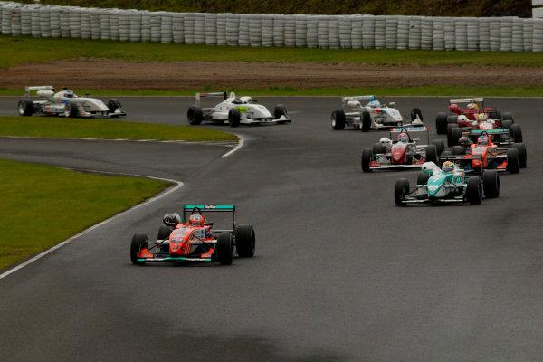 2003 Formula Nippon ChampionshipSugo, Japan. 27th July 2003.Round 11, start.World Copyriht: Yasushi Ishihara/LAT Photographicref: Digital Image Only