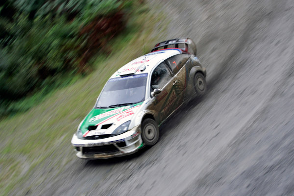 2004 FIA World Rally Champs. Round twelve, Wales Rally GB.16th- 19th September 2004.Markko Martin, Ford, action.World Copyright: McKlein/LAT