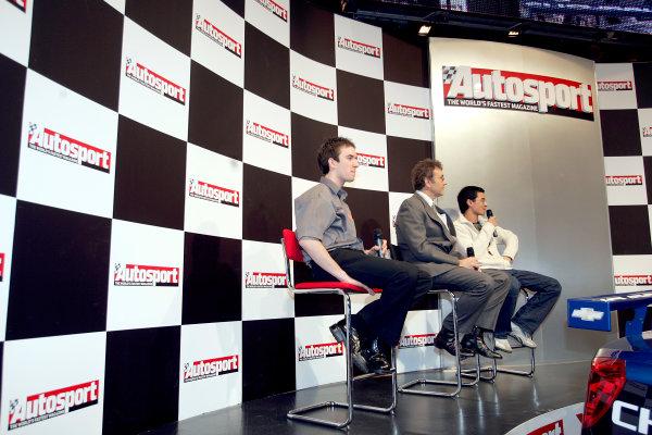 2005 Autosport International ExhibitionNEC, Birmingham, UK. 13th - 16th January.World Copyright: Glenn Dunbar/LAT Photographicref: Digital Image Only