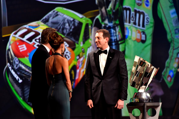 1-4 December, 2015, Las Vegas, Nevada USA Kyle and Samantha Busch ? 2015, Nigel Kinrade LAT Photo USA