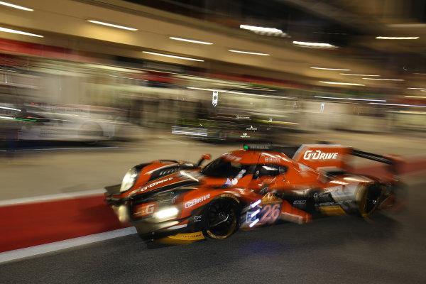 2015 FIA World Endurance Championship, Bahrain International Circuit, Bahrain. 19th - 21st November 2015. Romain Rusinov / Julien Canal / Sam Bird G-Drive Racing Ligier JS P2 Nissan. World Copyright: Jakob Ebrey / LAT Photographic.