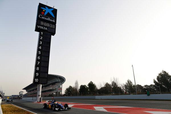 Circuit de Catalunya, Barcelona, Spain Tuesday 23 February 2016. Marcus Ericsson, Sauber C35 Ferrari. World Copyright: Alastair Staley/LAT Photographic ref: Digital Image _R6T8550