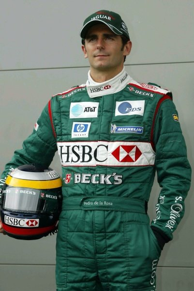 Pedro de la Rosa (ESP) Jaguar.Australian Grand Prix, Albert Park, Melbourne, 28 February 2002DIGITAL IMAGE