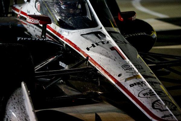 #1: Josef Newgarden, Team Penske Chevrolet celebrates