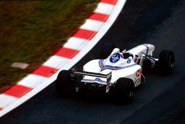 1997 Belgian Grand Prix.Spa-Francorchamps, Belgium.22-24 August 1997.Jan Magnussen (Stewart SF1 Ford).World Copyright - LAT Photographic
