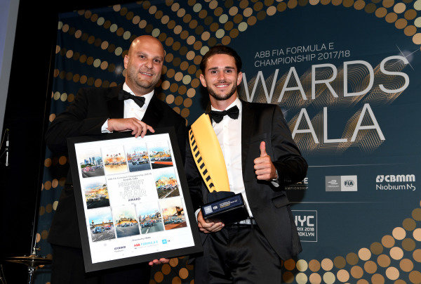 Daniel Abt (GER), Audi Sport ABT Schaeffler, Audi e-tron FE04, moment of the year at the Awards Gala.