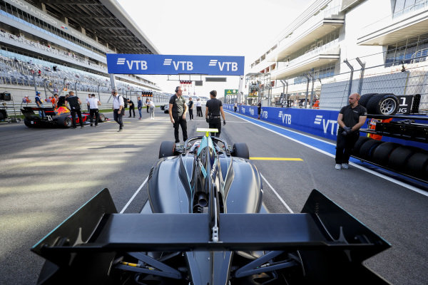 SOCHI AUTODROM, RUSSIAN FEDERATION - SEPTEMBER 29: Jake Hughes (GBR, HWA RACELAB) during the Sochi at Sochi Autodrom on September 29, 2019 in Sochi Autodrom, Russian Federation. (Photo by Carl Bingham / LAT Images / FIA F3 Championship)