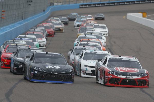#18: Kyle Busch, Joe Gibbs Racing, Toyota Supra Extreme Concepts/iK9 #20: Christopher Bell, Joe Gibbs Racing, Toyota Supra Rheem