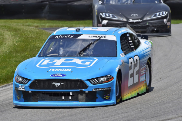 #22: Austin Cindric, Team Penske, Ford Mustang PPG