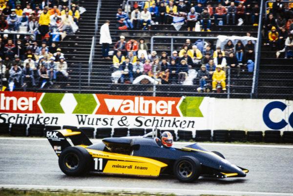 Oscar Larrauri, Minardi M283 BMW/Mader.