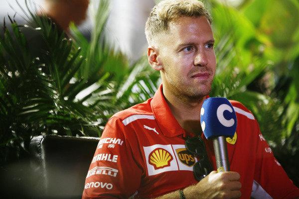 Sebastian Vettel, Ferrari.