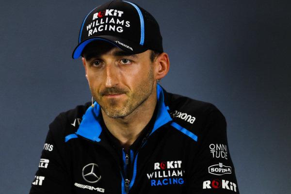 Robert Kubica, Williams Racing in Press Conference