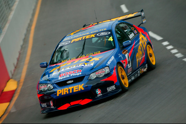 Clipsal 500 V8 Supercars Adelaide 22nd March 2003Ford Driver Marcos Ambrose qualifies his BA falcon in third position for the Clipsal 500 in Adelaide Australia.World Copyright: Mark Horsburgh/LAT Photographicref: Digital Image Only
