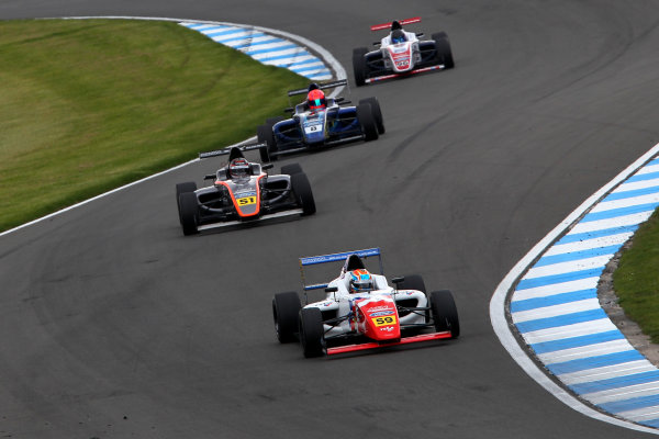 2015 MSA Formula Powered by Ford EcoBoost, Donington Park, Leicestershire. 16th - 19th April 2015. Josh Smith (GBR) Fortec Motorsports MSA Formula. World Copyright: Ebrey / LAT Photographic.