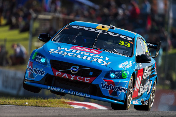 2015 V8 Supercars Round 3. Perth Super Sprint, Barbagallo Raceway, Western Australia, Australia. Friday 1st May - Sunday 3rd May 2015. Scott McLaughlin drives the #33 Wilson Security Racing GRM Volvo  World Copyright: Daniel Kalisz/LAT Photographic Ref: Digital Image V8SC15_PERTHR3_DKIMG1900.JPG