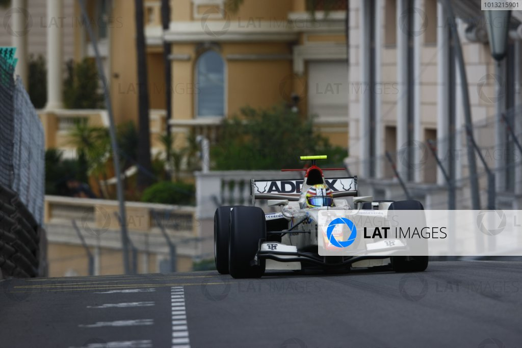 2008 GP2 Series. Round 3. Saturday Race. Monte-Carlo, Monaco. 24th May 2008.Ben Hanley (GBR, Barwa International Campos Team). Action. World Copyright: Charles Coates/GP2 Series Media Service.ref:__26Y9473 jpg