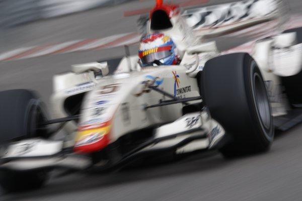 2008 GP2 Series. Round 3. Saturday Race. Monte-Carlo, Monaco. 24th May 2008.Vitaly Petrov (RUS, Barwa International Campos Team). Action. World Copyright: Andrew Ferraro/GP2 Series Media Service.ref:__H0Y6263 jpg