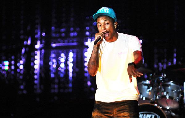 Pharrel Williams (USA), Singer with rock band N.E.R.D.F1 Rocks With LG, Sao Paulo, Brazil, 6-7 November 2010.