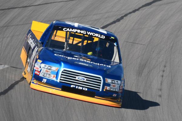 NASCAR Camping World Truck Series JAG Metals 350 Texas Motor Speedway Fort Worth, TX USA Thursday 2 November 2017 Chase Briscoe, Cooper Standard Ford F150 World Copyright: John K Harrelson LAT Images