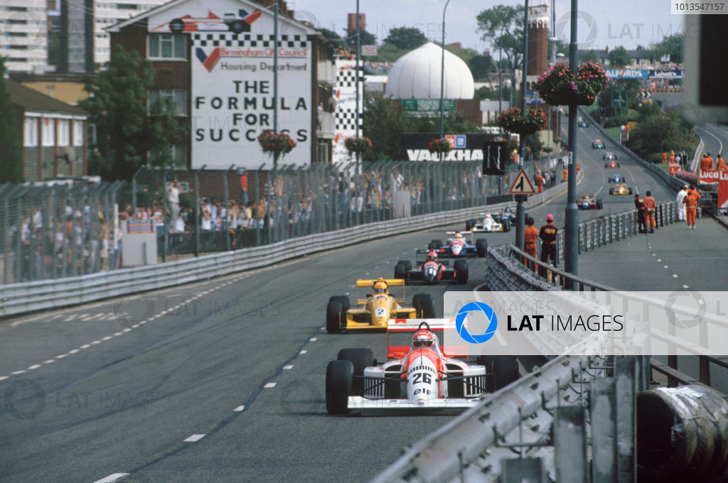 Birmingham, England. 27th August 1990. Rd 9.