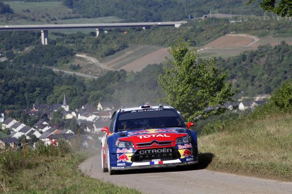 Round 09Rallye Deutschland 19-22/8 2010Sebastien Loeb, Citroen WRC, ActionWorldwide Copyright: McKlein/LAT