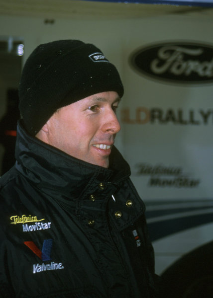 2001 World Rally Championship. Monte Carlo Rally,  Monaco. 18th -21st January 2001. Rd 1. Colin McRae, portrait. World Copyright: Ralph Hardwick/ LAT Photographic. Ref: Colin1