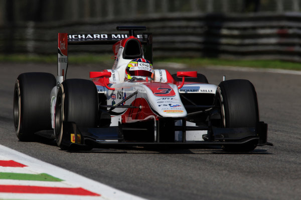 2013 GP2 Series. Round 9.  Autodromo di Monza, Monza, Italy. 6th September.  Friday Qualifying.  James Calado (GBR , ART Grand Prix). Action.  World Copyright: Charles Coates/GP2 Media Service. ref: Digital Image _X5J6611.jpg