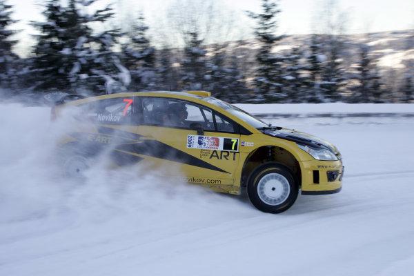 Round 02Rally Norway 12-15 February 2009Evgeny Novakov, Citroen, ActionWorldwide Copyright: McKlein/LAT