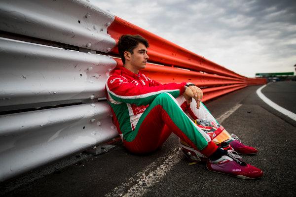 2017 FIA Formula 2 Round 6. Silverstone, Northamptonshire, UK. Thursday 13 July 2017. Charles Leclerc (MCO, PREMA Racing).  Photo: Zak Mauger/FIA Formula 2. ref: Digital Image _56I6342