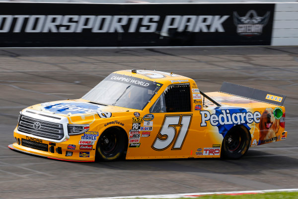 NASCAR Camping World Truck Series Drivin? For Linemen 200 Gateway Motorsports Park, Madison, IL USA Saturday 17 June 2017 Todd Gilliland, Pedigree Toyota Tundra World Copyright: Russell LaBounty LAT Images