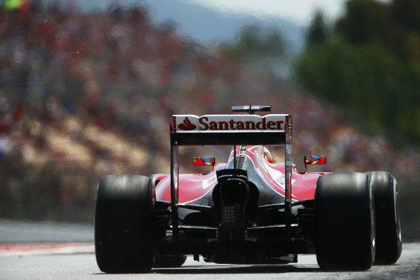 Circuit de Catalunya, Barcelona, Spain. Saturday 10 May 2014. Fernando Alonso, Ferrari F14T. World Copyright: Andy Hone/LAT Photographic. ref: Digital Image _ONY9975