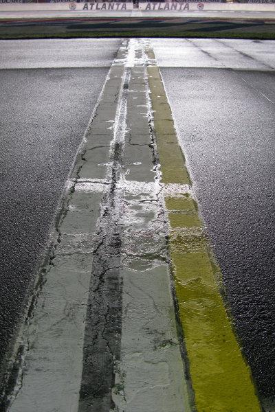 2-4 September, 2011, Hampton, Georgia USAThanks to Tropical Storm Lee, we aren't racing again until Tuesday at Atlanta Motor Speedway.(c)2011, Lesley Ann MillerLAT Photo USA