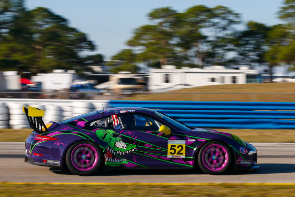 2017 Porsche GT3 Cup USA Sebring International Raceway, Sebring, FL USA Wednesday 15 March 2017 52, Kurt Fazekas, GT3G, USA, 2016 Porsche 991 World Copyright: Jake Galstad/LAT Images ref: Digital Image lat-galstad-SIR-0317-14873